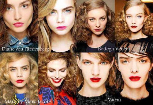 Модный макияж 2014 фото