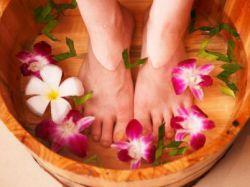 Ножные ванны от усталости ног